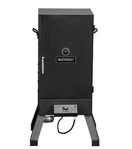 Electric Smoker Outdoor Patio Cooking Grill Analog Smoking Rack Wood Pellet BBQ $121.64