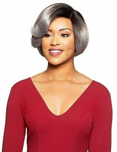 Foxy Silver Synthetic Hair J Part Lace Front Wig Marilyn Grey Colors $45.99