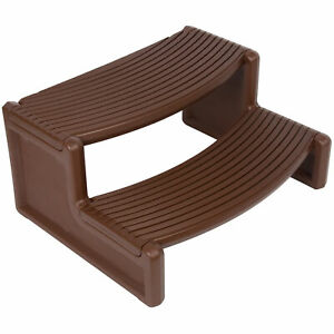 Plastic Espresso Resin Pool Ladders Steps Handi Step For Spa and Hot Tubs Pool