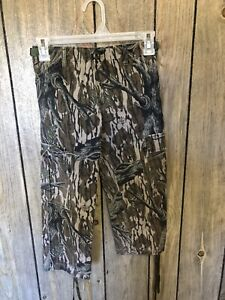 Vintage Mossy Oak Treestand YOUTH Hunting Pants Made In USA