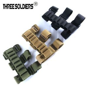 Adjustable Outdoor Hunting Durable 8 Rounds Bullet Tactical Buttstock Sleeve $9.99