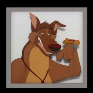 FLASH SALE ALL DOGS GO TO HEAVEN CHARLIE Original Animation Cel Authentic $29.99