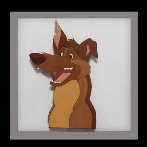 FLASH SALE ALL DOGS GO TO HEAVEN CHARLIE Original Animation Cel Authentic $34.99