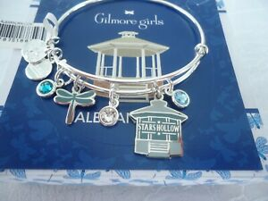 Alex and Ani GILMORE GIRLS STARS HOLLOW MULTI CHARM Bangle New W Tag Card amp; Box $44.99