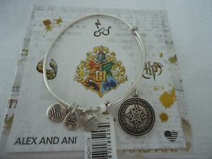 Alex and Ani Harry Potter YULE BALL Russian Silver Bangle New W Tag Card amp; Box $27.99