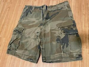 Men's American Eagle Camouflage Shorts Size 33