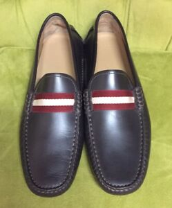 Bally Waltec Brown Men's Shoes Driving Loafers LEATHER Size 12 US