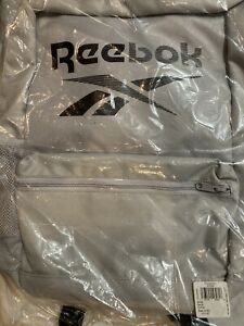 Reebok Training Essentials Backpack Medium Sterling Grey In Hand One Day Ship
