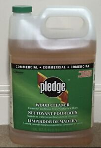 Vtg 1998 Pledge Wood Cleaner Household amp; Other Surfaces 128 Oz Commercial Line