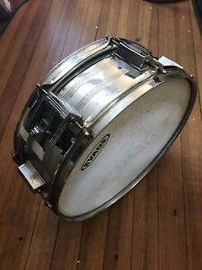 "TAMA VINTAGE SWINGSTAR SNARE DRUM LUDWIG HARDWARE 14quot; X 6"" JAPAN $149.00"