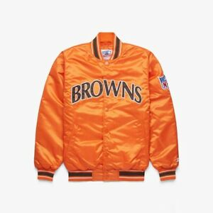 Cleveland Browns HOMAGE x STARTER jacket NFL Football Limited Edition Baker OBJ $299.00