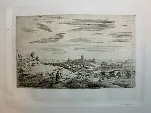 Rembrandt Etching Amand Durand $75.00