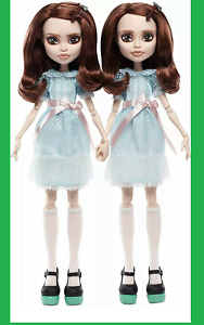 New The Shining Grady Twins Monster High Collector Doll Mattel Free Fast Ship $118.88