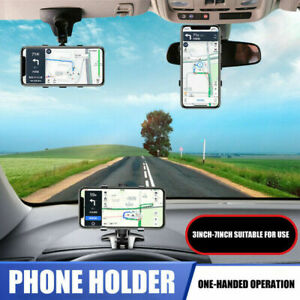 Spida Mount 360° Universal Cell Phone Car Dashboard Holder Stand Bracket Clip US