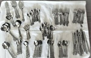 Oneida Community Stainless Flatware Chandelier 50 Piece Collection $8.00