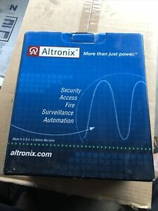 Altronix AL100UL Linear 12VDC Power Supply Battery Charger **NEW IN BOX** $45.00