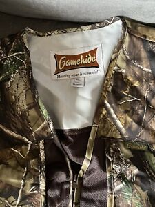 Gamehide Boy Or Girl Camo Youth Hunting Vest Size XL