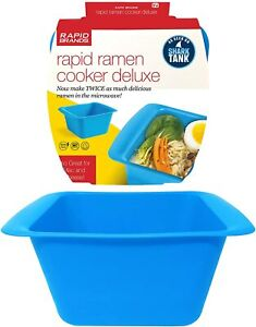 Kitchen Rapid Ramen Cooker Deluxe Microwave 2 Packs Of In 3 Minutes Perfect For $13.55