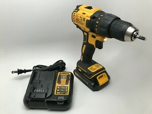 Dewalt Drill Drivers DCD777 BRUSHLESS 20V MAX 1 2quot; With Battery amp; Charger $79.95