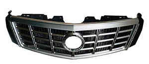 2013 2015 Cadillac XTS Center Chrome Grille Shell with Gray Insert $320.00