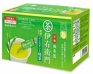 Iemon instant green tea stick 120 pieces fromJAPAN $35.03