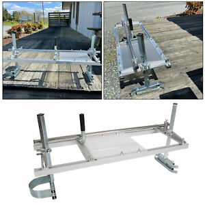 Chainsaw Mill 14 36 Portable Chain Saw Mill Aluminum Steel Planking Lumber