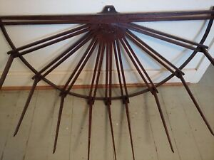 Antique Folding Wooden Herb Drying Rack $1000.00