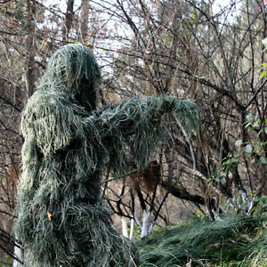 Ghillie Suit Sport Tactical Forest Hunting Camouflage Clothing Sniper Clothes