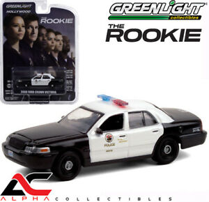 GREENLIGHT 44900F 1:64 2008 FORD CROWN VICTORIA POLICE LAPD THE ROOKIE $7.95