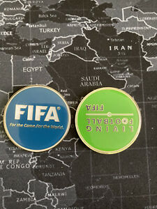 FIFA Living Football Limited Edition Coin $7.00