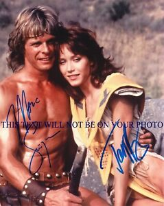 BEASTMASTER CAST SIGNED AUTOGRAPH 8X10 RPT PHOTO TANYA ROBERTS AND MARC SINGER $18.99