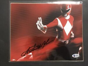 Bam Box Exclusive MMPR Red Ranger Austin St. John Signed 8x10 With COA $19.99