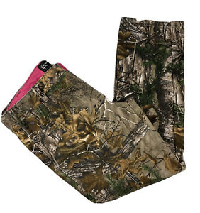 Woman's Realtree Camouflage Plus Size 18 Cotton Straight Leg Jeans REALTREE Hunt