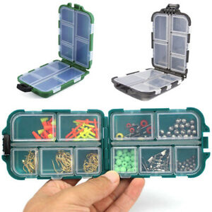 Fishing Storage Box Acesorries Organizer Container 9.9*6.5*3cm Durable