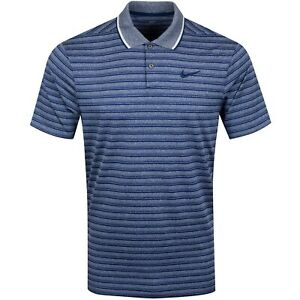 Nike Dry Fit Striped Golf Polo Standard Fit Size XL MSRP $75.00 CK4744 492 NWT $29.99