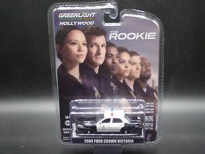 2021 GREENLIGHT 2008 FORD CROWN VICTORIA CAR LAPD THE ROOKIE HOLLYWOOD SERIES 30 $9.99