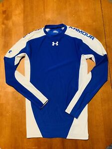 Under Armour Blue Compression Shirt Mens Size Medium $25.00