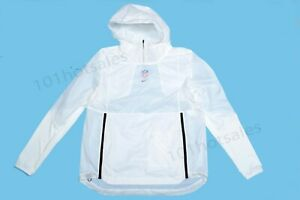 "NEW Sz MED Mens Nike NFL ""The League"" On Field Pullover Jacket White AH9241 100 $72.99"