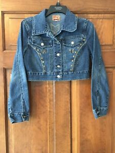 Funhouse Vintage The Best Jeans Wear Jeans Jacket Junior Size Small