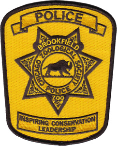 CHICAGO ZOOLOGICAL PARK POLICE DEPARTMENT PATCH: Series 3 Brookfield Zoo