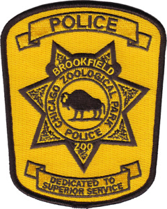 CHICAGO ZOOLOGICAL PARK POLICE DEPARTMENT PATCH: Series 2 Brookfield Zoo
