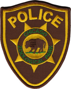 CHICAGO ZOOLOGICAL PARK POLICE DEPARTMENT PATCH: Series 1 Brookfield Zoo