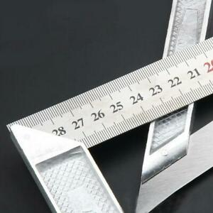 Steel L Square Angle Ruler 90° Ruler For Woodworking Tool Top Carpenter $5.00