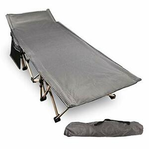 REDCAMP Folding Camping Cots for Adults 500lbs Double Layer Oxford Strong Hea...