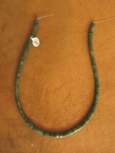 JADE RONDELLE MATTE 5mm BEAD STRAND 15 in. NEW OLD STOCK $13.99