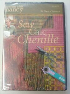 Sewing With Nancy: Sew Chic Chenille DVD 2005 Zieman instructional series NEW $9.99