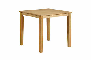 Kings Brand Furniture Square Wood Dining Room Kitchen Table Natural Oak $109.99