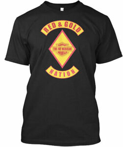 Red amp Gold Nation Bandidos Support Fat M The Mexican Premium Tee T Shirt $19.98