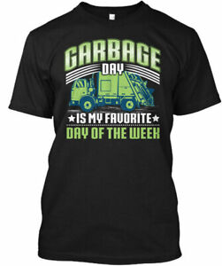 Garbage Day Truck T For Kids Funny Gildan Tee T Shirt $18.98