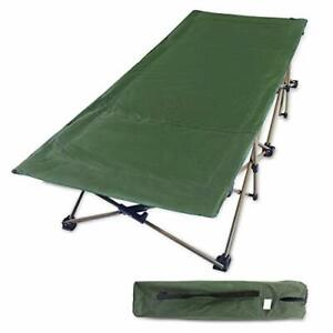 REDCAMP Folding Camping Cots for Adults Heavy Duty 33quot; Extra Wide Sturdy Port...